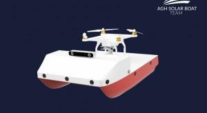 Autonomiczna łódź solarna z AGH zbada dno rzek i jezior
