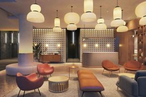 Tak będzie wyglądało wnętrze Qubus Hotel Katowice. MIXD zaproponowali wariację na temat stylu złotej ery Katowic!