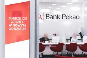 Sztandarowa placówka banku Pekao SA w nowej, cyfrowej odsłonie