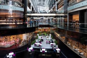 Food courty przekształcają się w strefy wielofunkcyjne