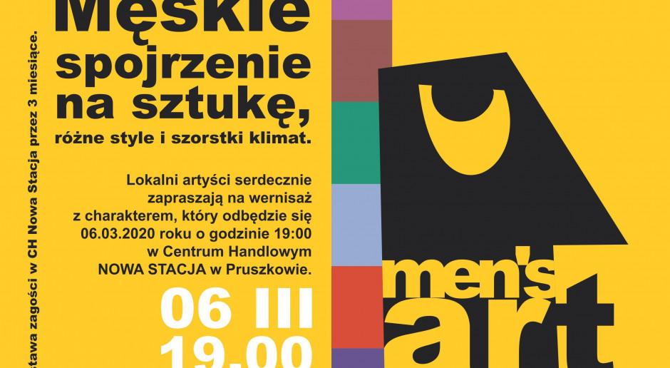 Wystawa prac lokalnych artystów w CH Nowa Stacja