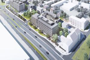 Projekt, który ożywi centrum Bydgoszczy. Pierwszy etap inwestycji spółki ARD szkicu Lab3 tuż przed finiszem