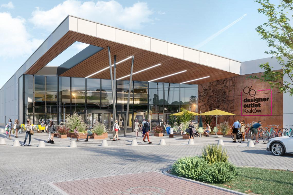 KG Group z nowym centrum outlet dla Krakowa. Architektura ma zaskoczyć!