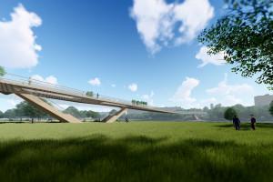 Pracownia Archimedia zaprojektuje kładkę pieszo-rowerową nad Wartą