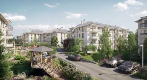 Parkowe alejki, altany i pergole - łódzka inwestycja kusi atrakcyjną przestrzenią wspólną