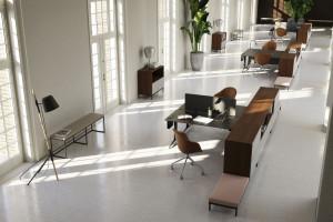 Ten system mebli biurowych sprawdzi się też w domowym biurze