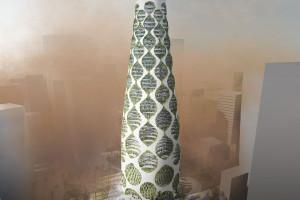 Wertykalna Oaza: FAAB mają pomysł na miejski budynek przyszłości