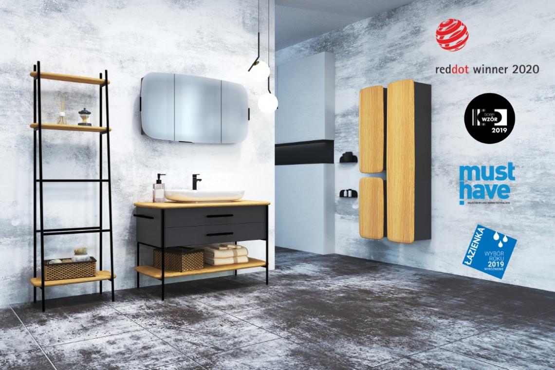 Polska marka meblarska z Red Dotem. Za projektem stoi Grynasz Studio