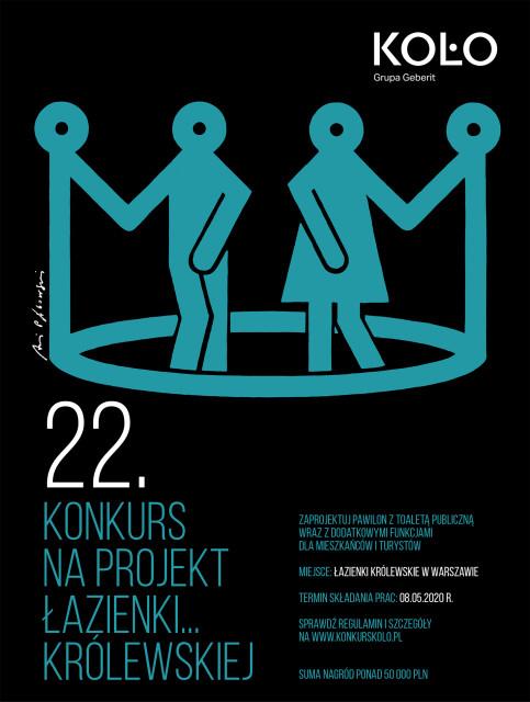 Zaprojektuj łazienkę w Łazienkach Królewskich! Wystartowała 22. edycja konkursu Koło