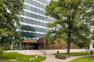 Zielona sylwetka i zielone rozwiązania, czyli ekologiczny biurowiec Regionens Hus