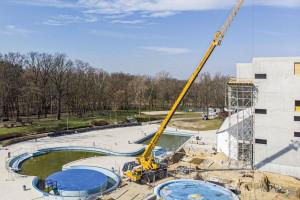 Mimo pandemii trwa budowa aquaparku Fala w Łodzi