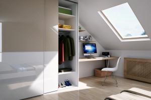 Sposób na home office: urządzamy kącik biurowy w sypialni