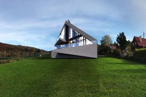 Góry i... paralotnie - to zainspirowało architekta tego budynku