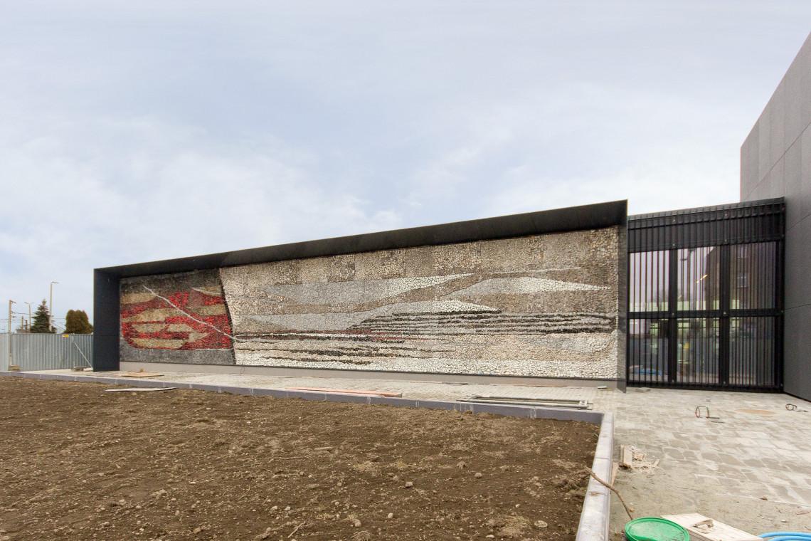 Ostatnie prace wokół nowego dworca w Oświęcimiu