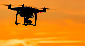 Zielona Góra wykorzystuje drony w kontrolach dot. zakazu gromadzenia się