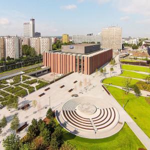 Powstanie wielopoziomowy parking w Strefie Kultury. SARP Katowice ogłosiło konkurs