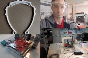 Warszawscy architekci wykorzystują drukarkę 3D do produkcji przyłbic ochronnych dla szpitali