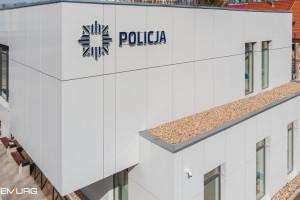 Demiurg z kolejną realizacją dla Policji. Nowoczesny komisariat w Szczawnie-Zdroju gotowy