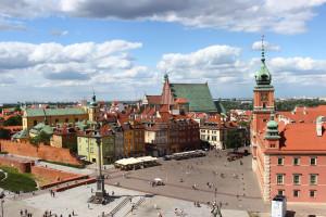 Zamek Królewski w Warszawie będzie podświetlony na niebiesko