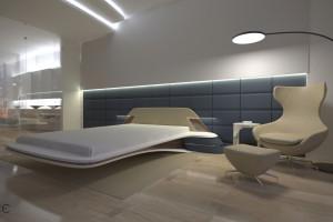 Penthouse w Złotej 44. Zastosowanie nieszablonowych rozwiązań daje spektakularne efekty