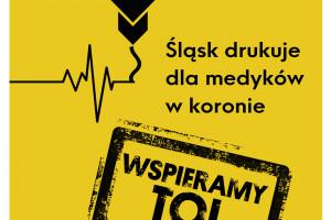 Galeria Katowicka wspiera akcję drukowania przyłbic dla szpitali