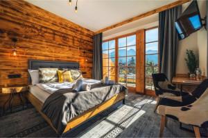 Górski relaks i odrobina luksusu z przepięknym widokiem na Tatry