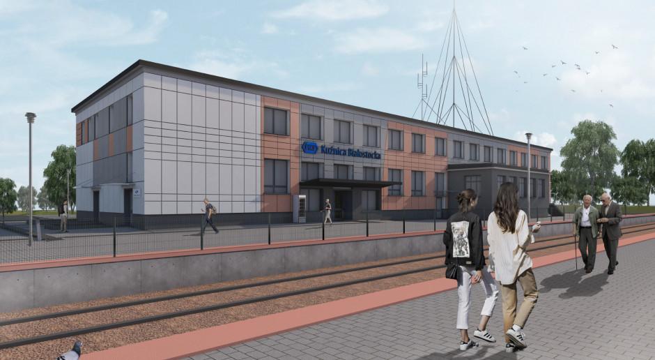 Rusza przebudowa dworca w Kuźnicy Białostockiej