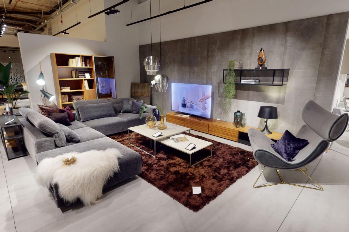 BoConcept przeniósł salon pokazowy do wirtualnej rzeczywistości w technologii 3D