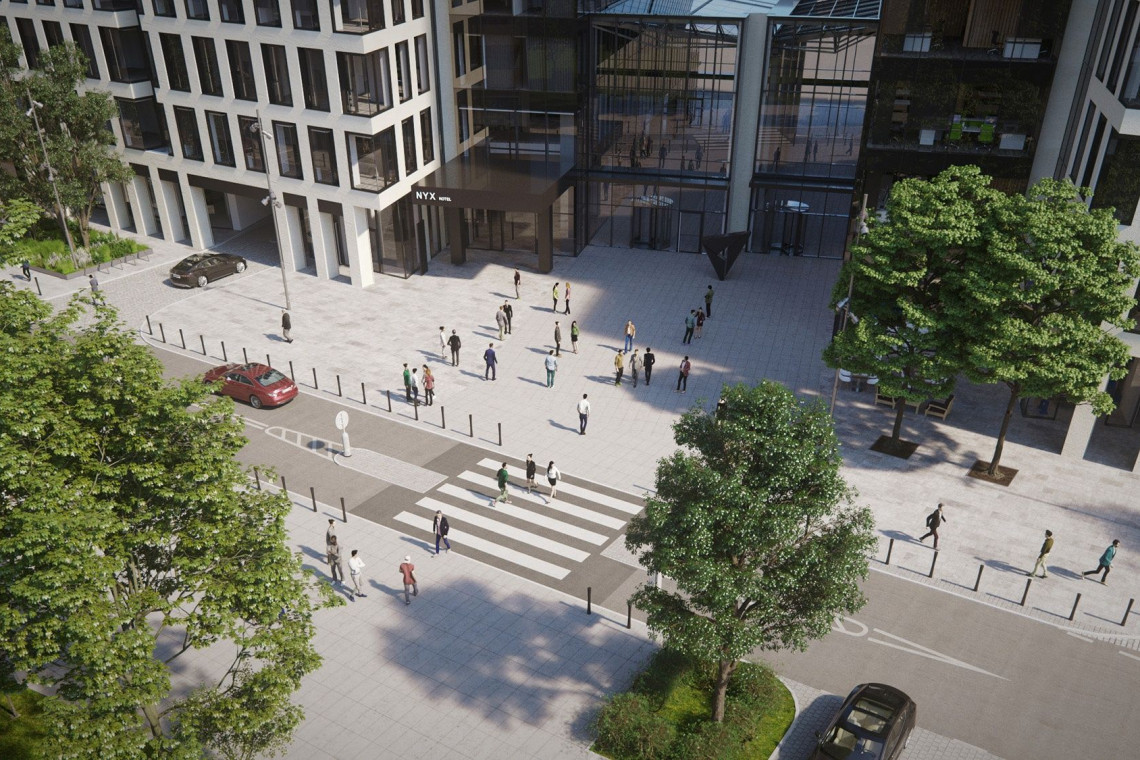 Nowa przestrzeń publiczna w centrum Warszawy. Zmiany wokół Varso Place