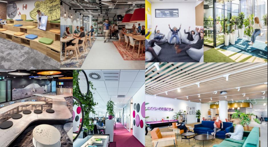 TOP: Najciekawsze przestrzenie biurowe w Polsce ostatnich 5 lat