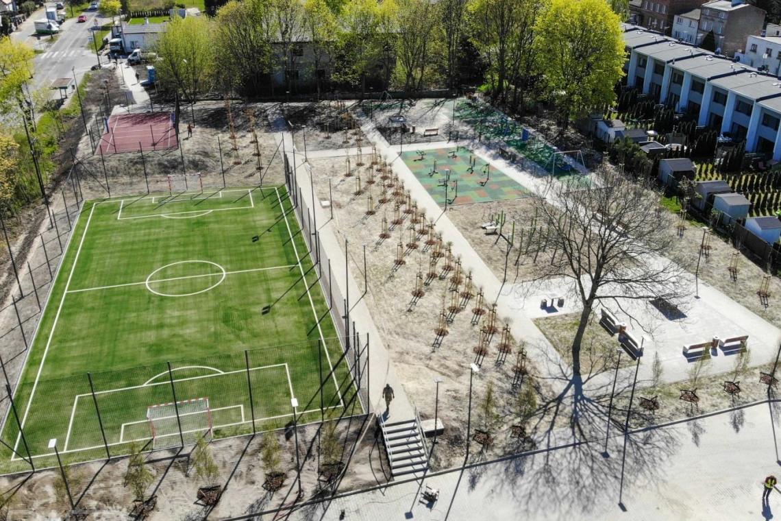 Dawne ogródki działkowe zmieniły się w miejski park