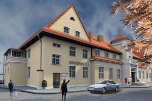 Dworzec w Prabutach - inwestycja nabiera rozpędu