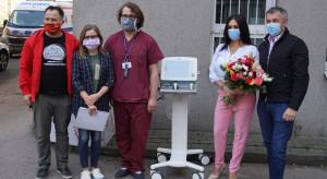 Producent kominków wspiera radomskie szpitale