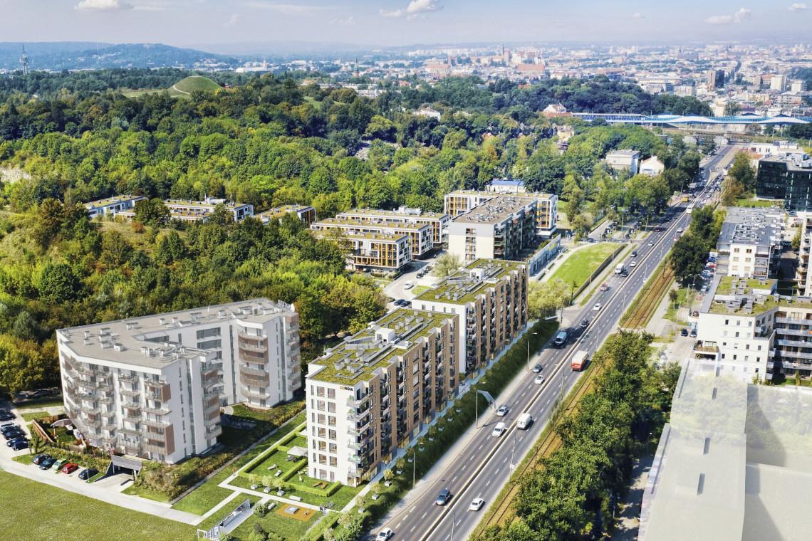 ION Architekci z nowym projektem na krakowskim Podgórzu