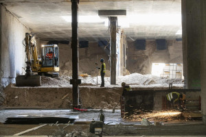 Mimo pandemii trwa budowa metra na warszawskim Bródnie