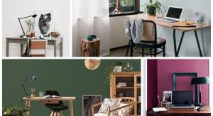 Kolory przy pracy: urządzamy domowe home office