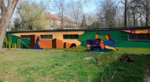Jak zmienia się Nowa Huta? Opowie o tym nowy mural