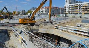 Trwają intensywne pracy przy budowie metra na styku Woli i Bemowa