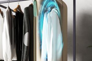 Design w dobie pandemii: pokrowiec, który ozonuje ubrania