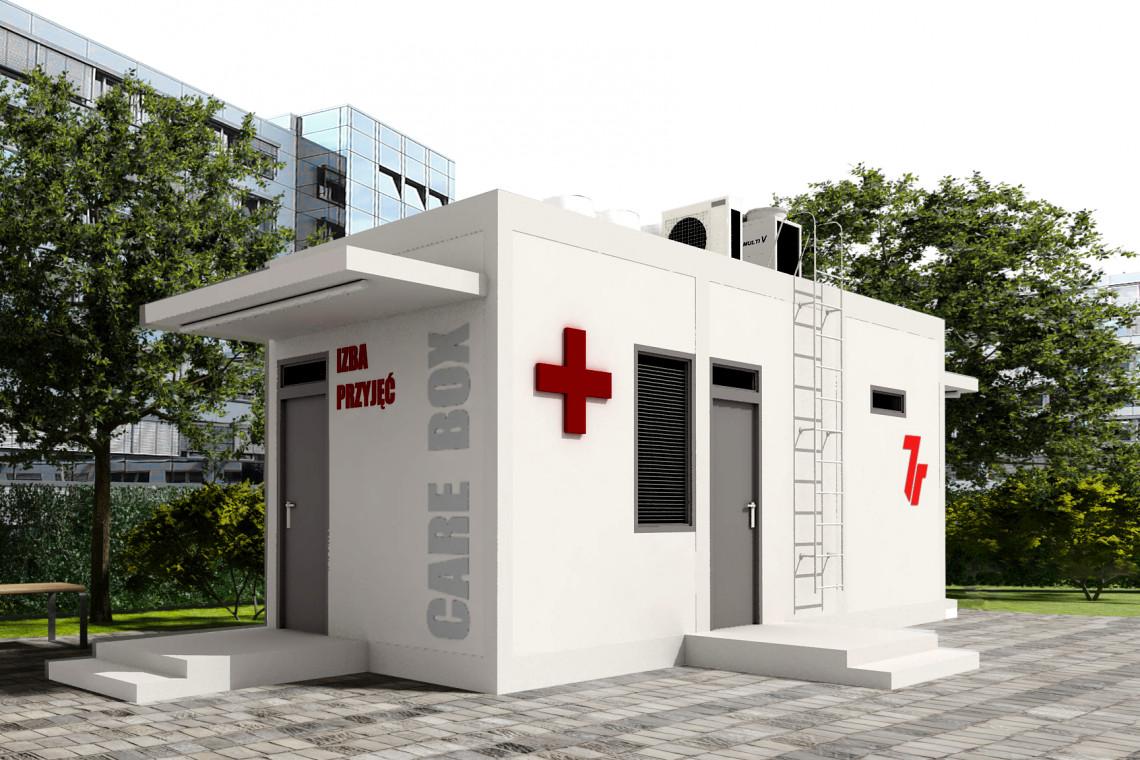 Mobilne izby przyjęć - ruszył program pomocy polskim szpitalom