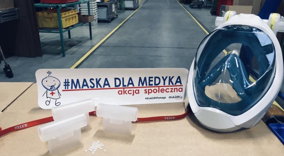 Maski do snorkelingu zamieniają w maski dla medyków
