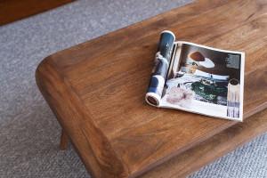 Retro z nowoczesnym twistem w drewnianym wydaniu