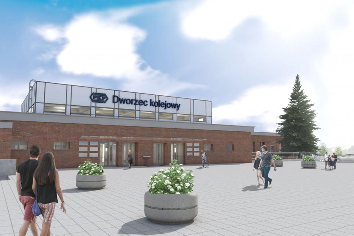 Zakończono przebudowę dworca kolejowego w Tczewie