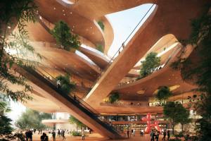 Zrównoważona architektura w sercu światowej metropolii. Nowy projekt spod kreski MVRDV