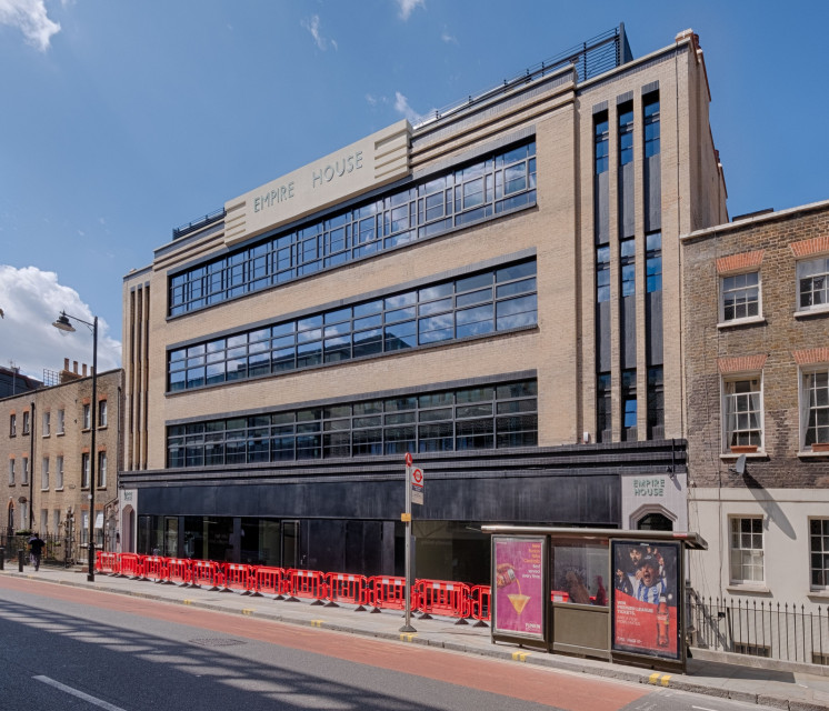 Zielony coworking w budynku poprzemysłowym: zobacz Empire House spod kreski Medusa Group