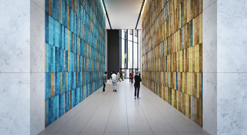 Lobby Varso Tower upiększy spektakularna mozaika