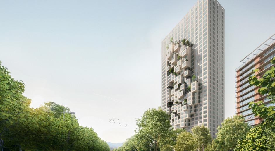 Tak będzie wyglądał najwyższy budynek w Albanii. To projekt MVRDV