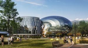 Futurystyczny mixed-use na miarę przyszłości w Bielsku-Białej
