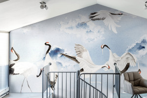 Inspiracje Dalekim Wschodem w nowej kolekcji tapet włoskiej marki