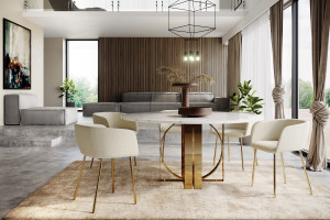 Oszczędny design w nowej kolekcji krzeseł polskiej marki